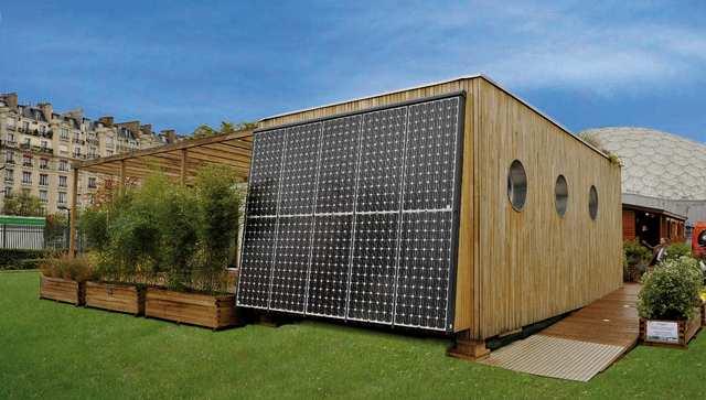 d veloppement durable une id e de maison bioclimatique. Black Bedroom Furniture Sets. Home Design Ideas
