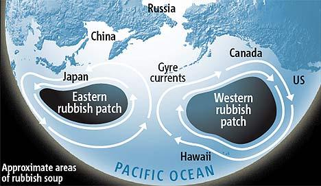 Pollution: tout savoir sur les continents de plastique  (5/6)