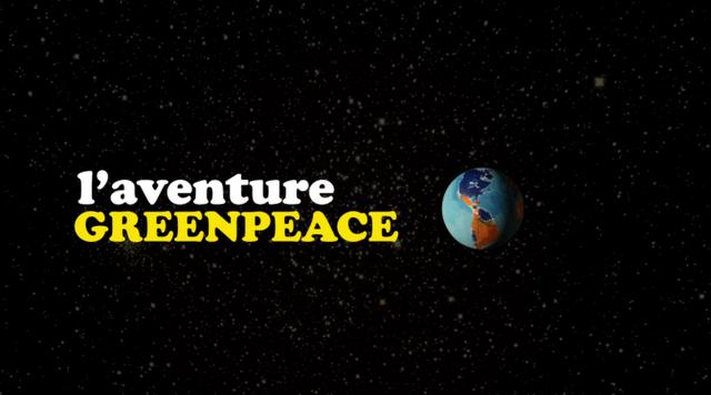 L'aventure Greenpeace affiche