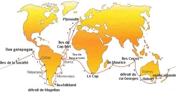 itineraire carte voyage
