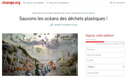 pétition-dechets-plastique-change.org